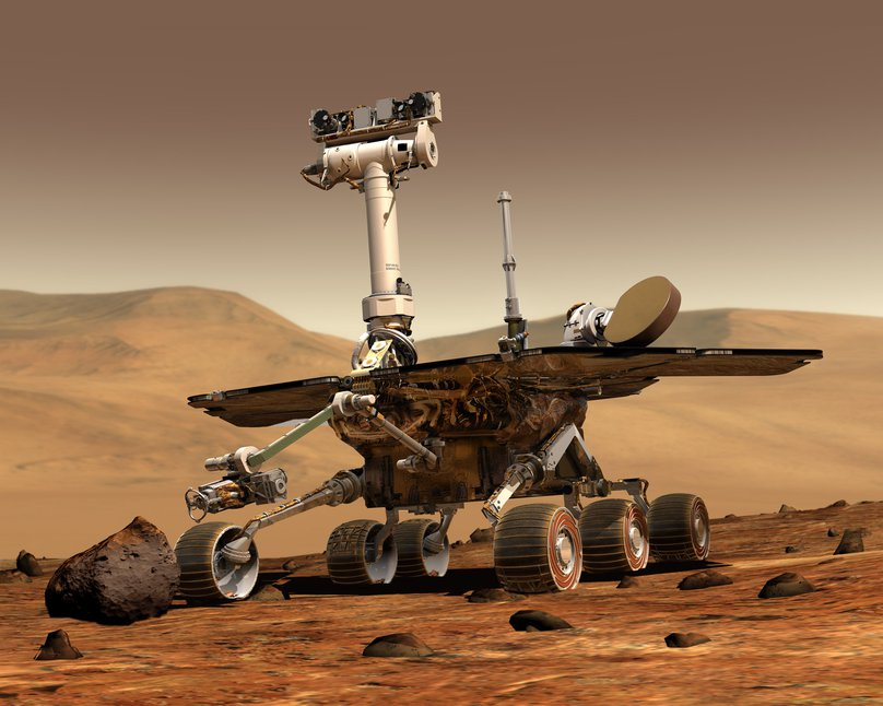 Mars rover intends to get a bit of history
