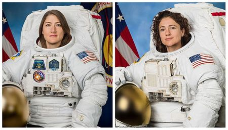 After record space station strategic NASA space traveler Christina Koch coming back to Earth