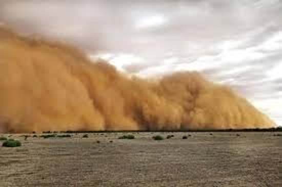 In Canary Islands Enormous sand storm strands dangers to voyagers