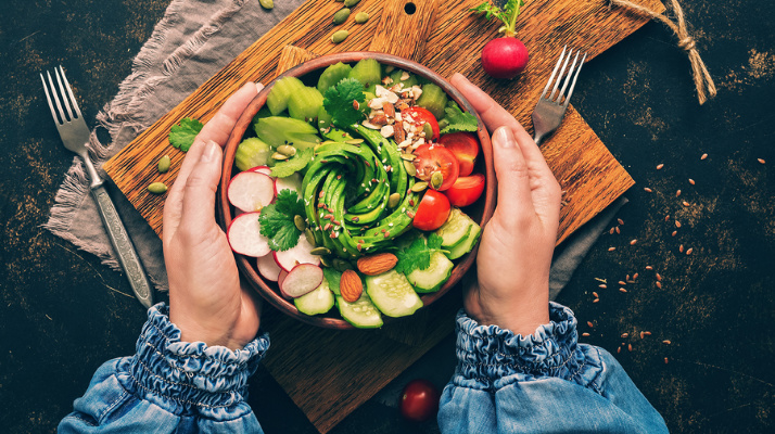 Can a plant-based diet assist you with getting in shape