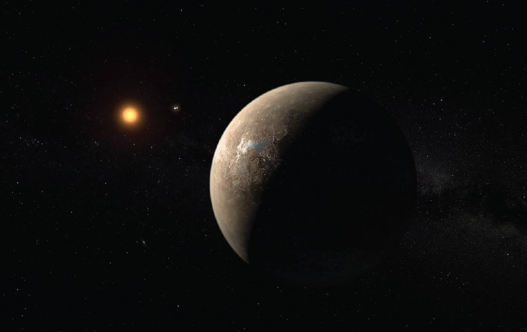 Having dust in the air, indicates an increasing habitability of distant planets