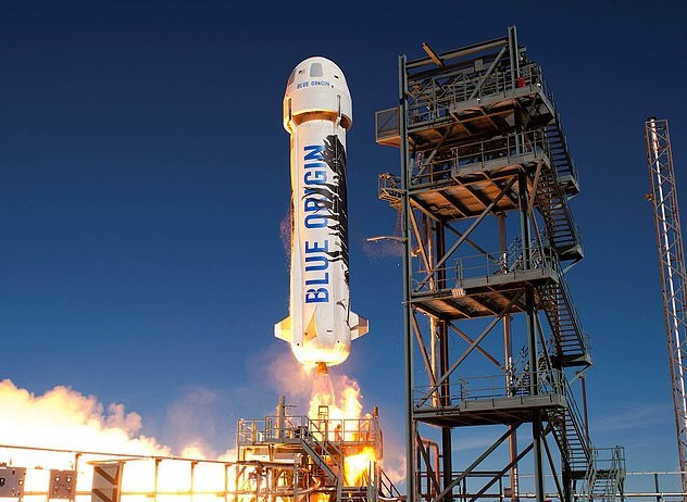 NASA awarded Jeff Bezos' Blue Origin and its 301-foot tall New Glenn rocket agreement for future space missions beginning in 2025