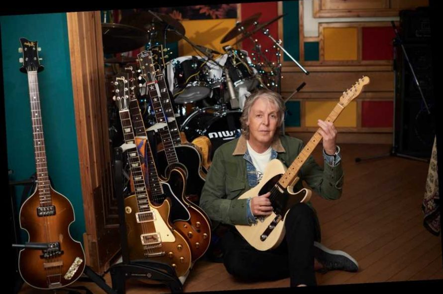 """Paul McCartney celebrates album release with the video """"Find My Way"""""""