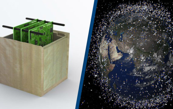 Japan is creating wooden satellites to cut space junk